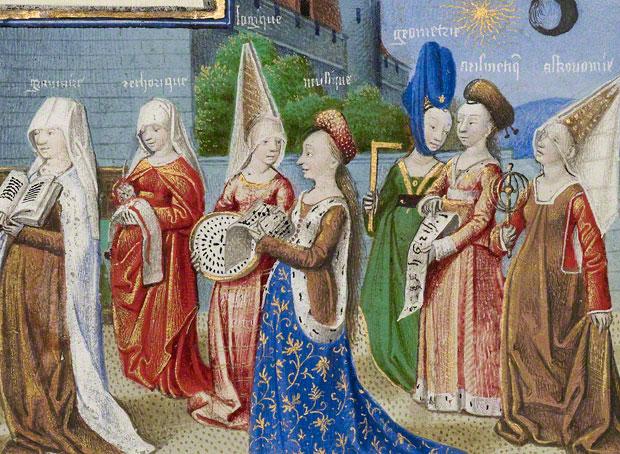 Brief History of Medieval ClothingMedieval Nobles Manuscript