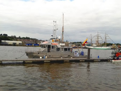 Photo of RV Keary at Waterford Tallships