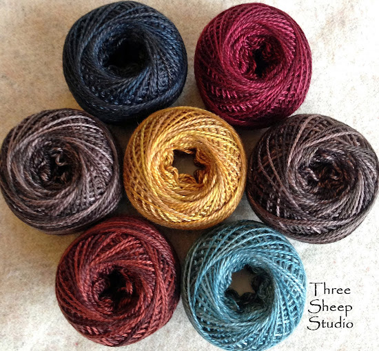 Valdani Thread Bundles at ThreeSheepStudio.com