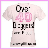 I'm a PROUD Over 40 Blogger