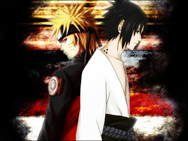 Naruto Shippuden - Naruto and Sasuke