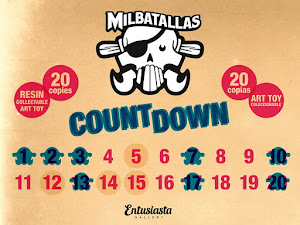 ART TOY Milbatallas COUNTDOWN
