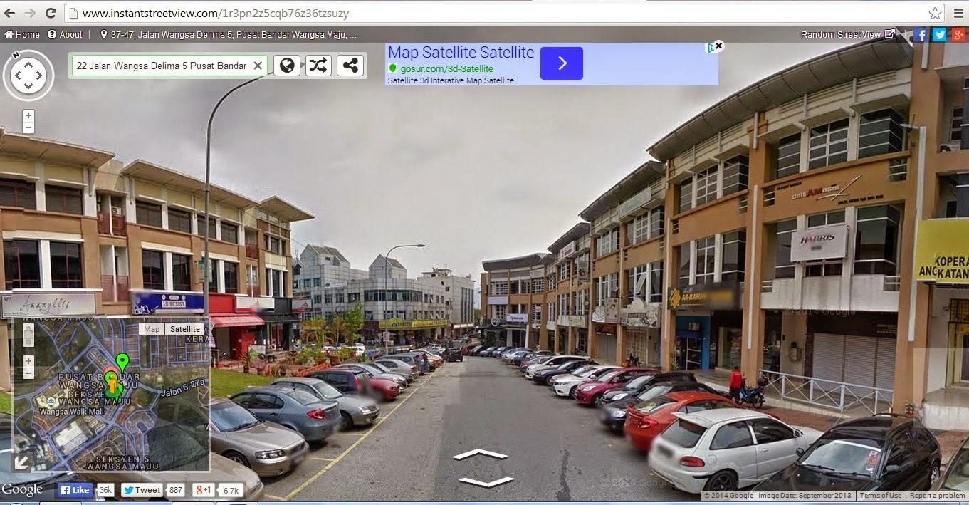 Google Street View Di Malaysia