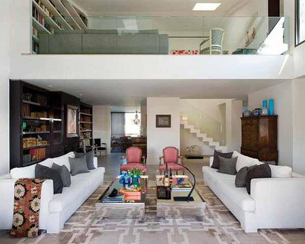 Rumah Minimalis Dengan Desain Interior Modern di Madrid