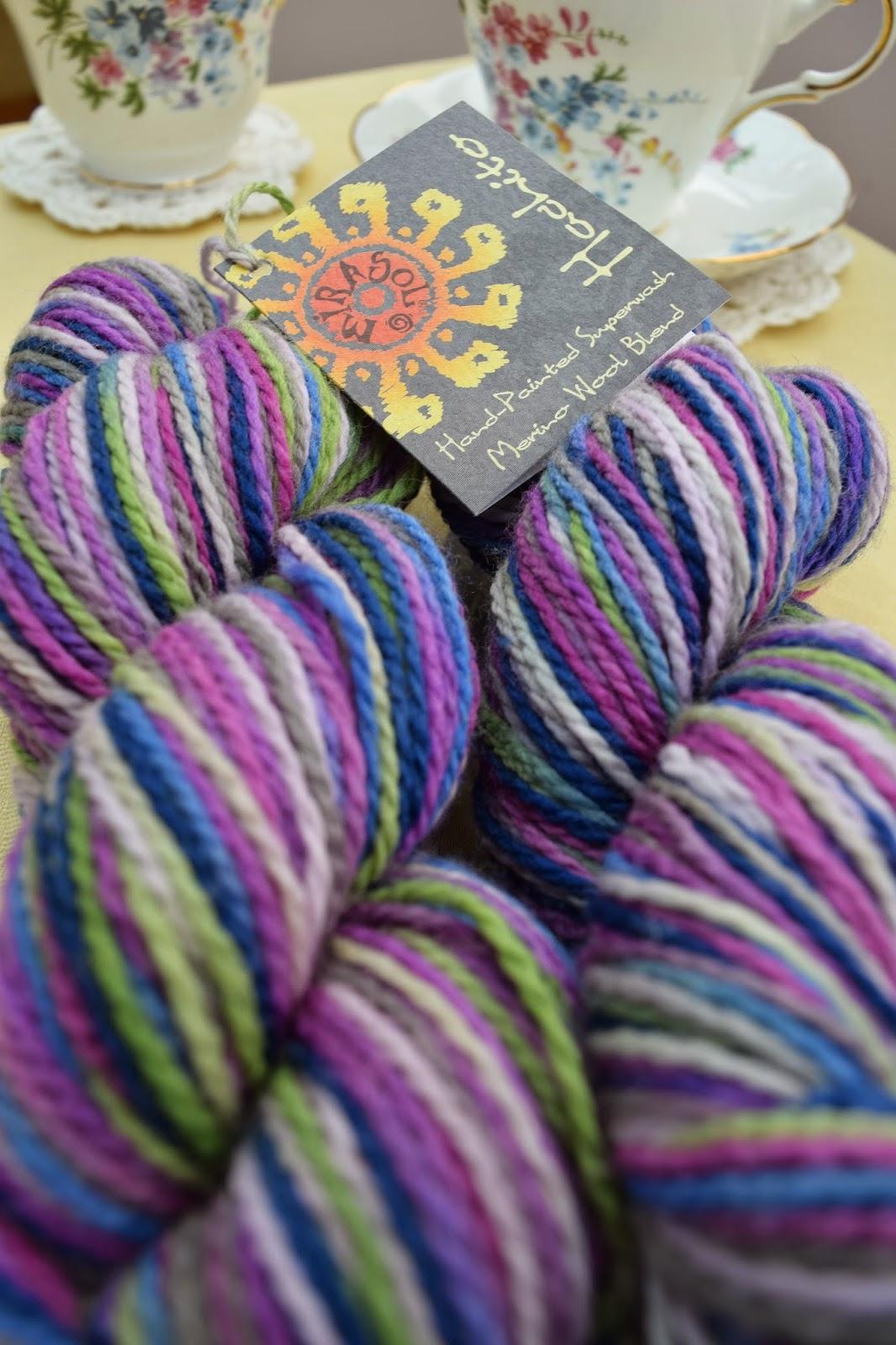 Mirasol Hachito Marino wool blend