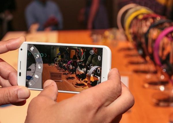 Google Moto X Smartphone Camera
