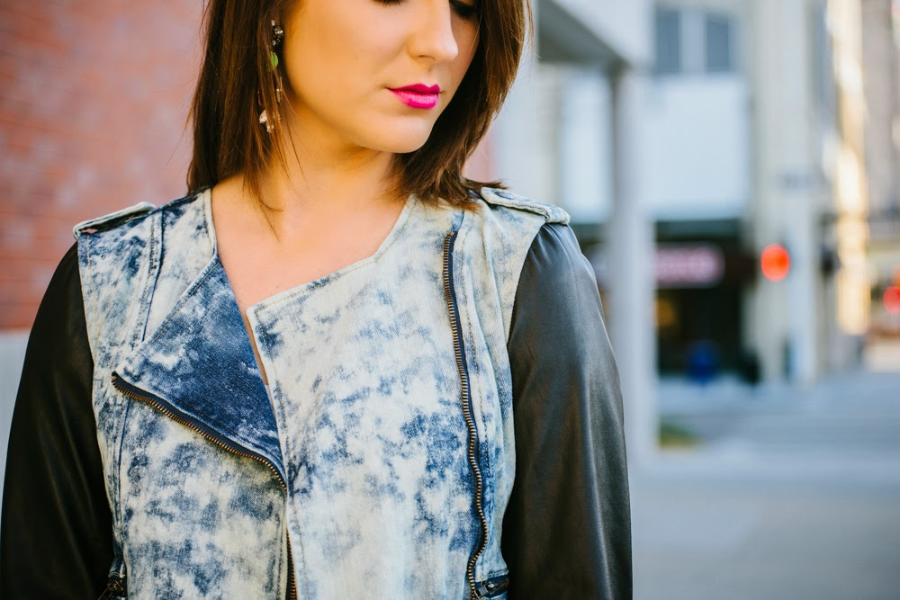Denim on denim | In good faith, Tess | fashion blog