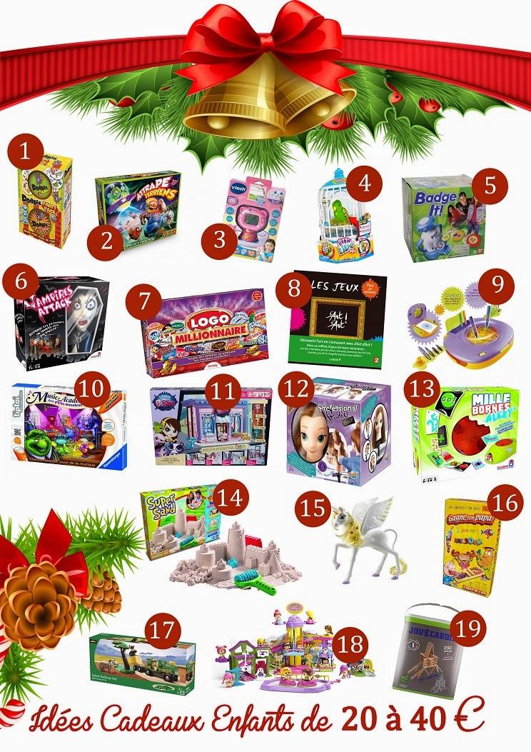 Idées cadeaux pour les enfants de 20 à 40 €, CONCOURS DE NOËL, noël 2014, jeux de sociétés
