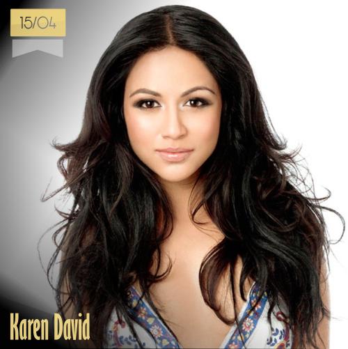 15 de abril | Karen David - @KarenDavid | Info + vídeos