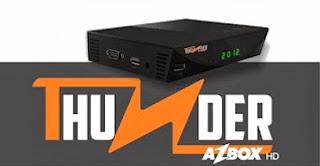 Azbox Thunder atualização desbloqueio