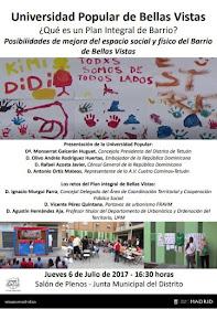 Presentación de la Universidad Popular de Tetuán