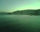 Mar verdoso...