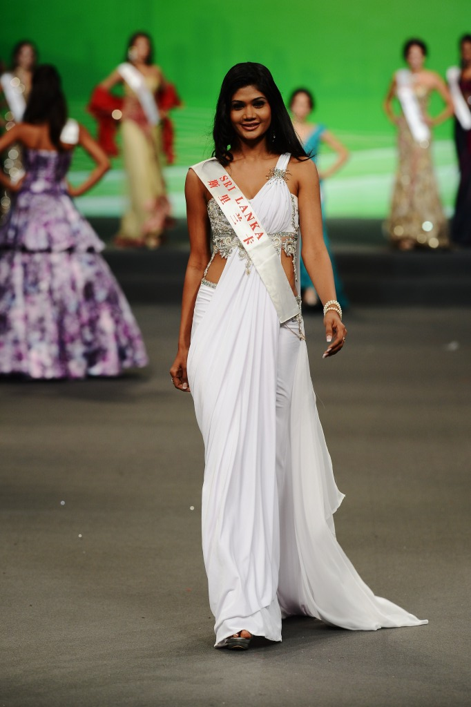 Miss World 2012 Fashion Designer Award Competition The Best