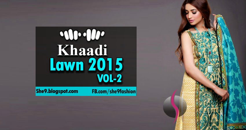 Khaadi Summer Lawn Collection 2015 Vol-2