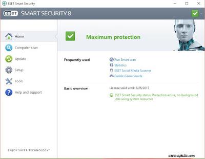 Username dan Password ESET NOD32, ESET Smart Security 8 dan ESET Mobile Antivirus September 2015