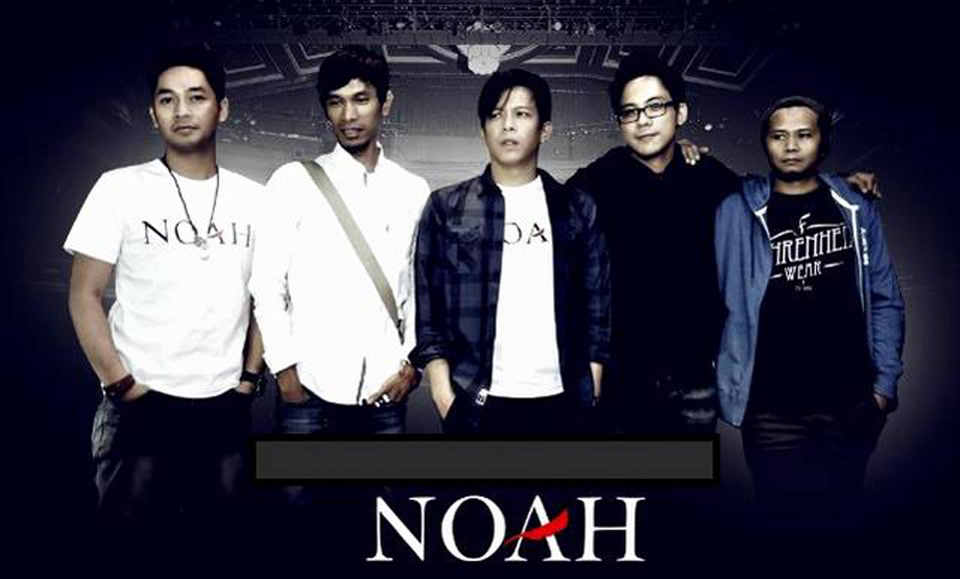 Kaos Noah BAND Indonesia - Sahabat NOAH