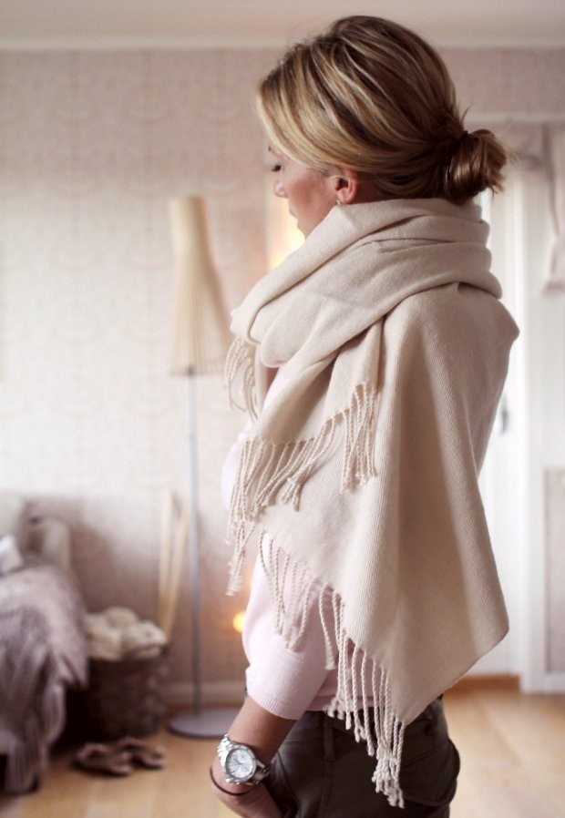Simple adorable southern shawl fashion