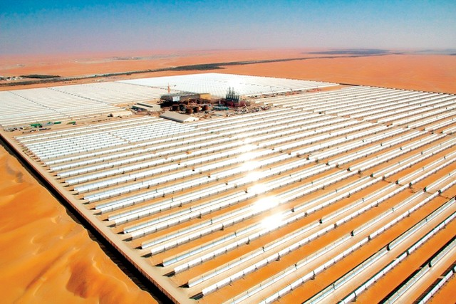 محطات الطاقة الشمسية الحرارية