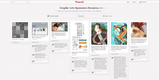 Ferramentas e links para as artes gráficas com software livre.