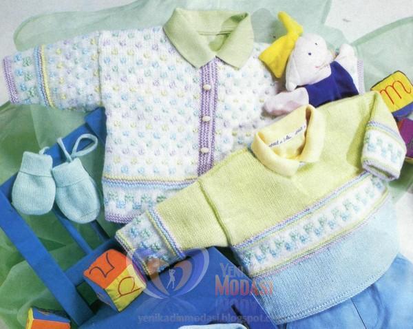 2013 Bebek Örgü Giyim Modelleri
