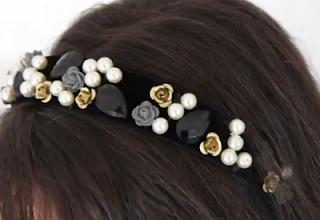 dolce & gabbana headband style for girls
