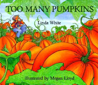 Preschool pumpkin books and activities for October