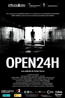 Cartel 'Open 24 horas'