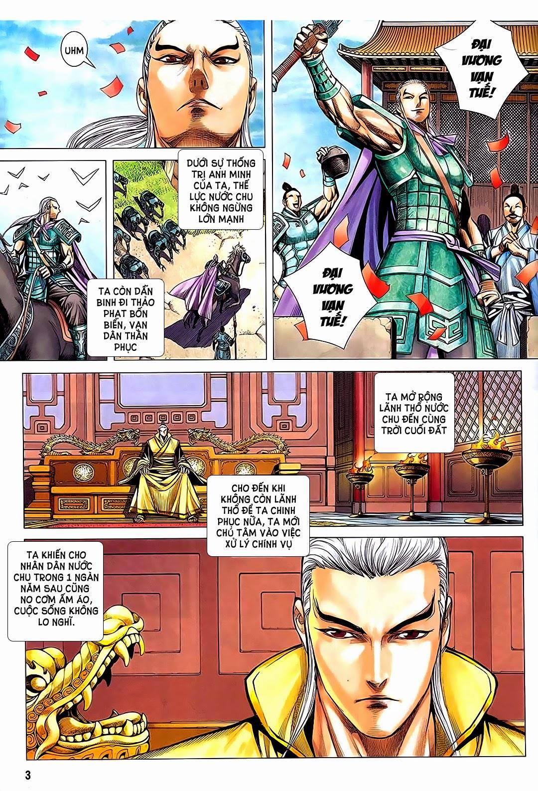 Phong Thần Ký chap 182 – End Trang 3 - Mangak.info