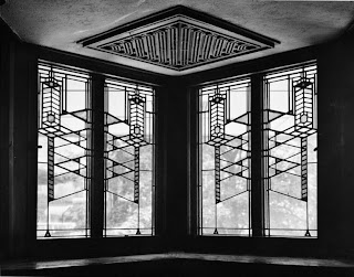 robie house art glass