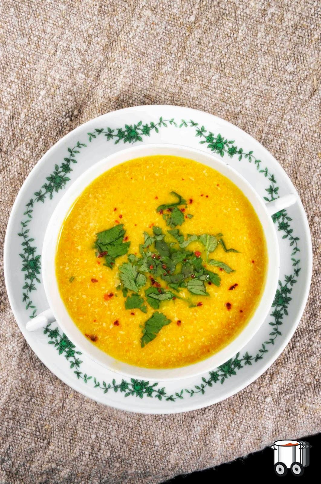 Szybko Tanio Smacznie - Kremowa zupa z marchewki i indyka (bez glutenu, bez laktozy)