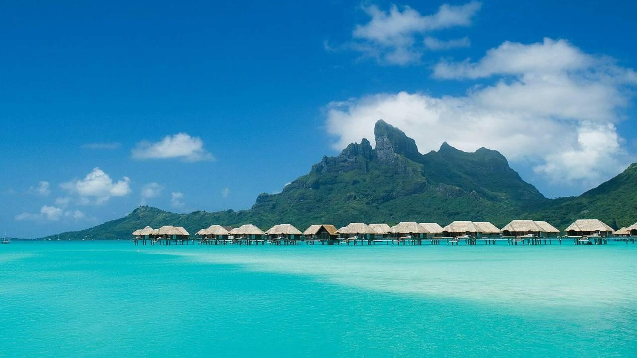 World Of Architecture Four Seasons Bora Bora French