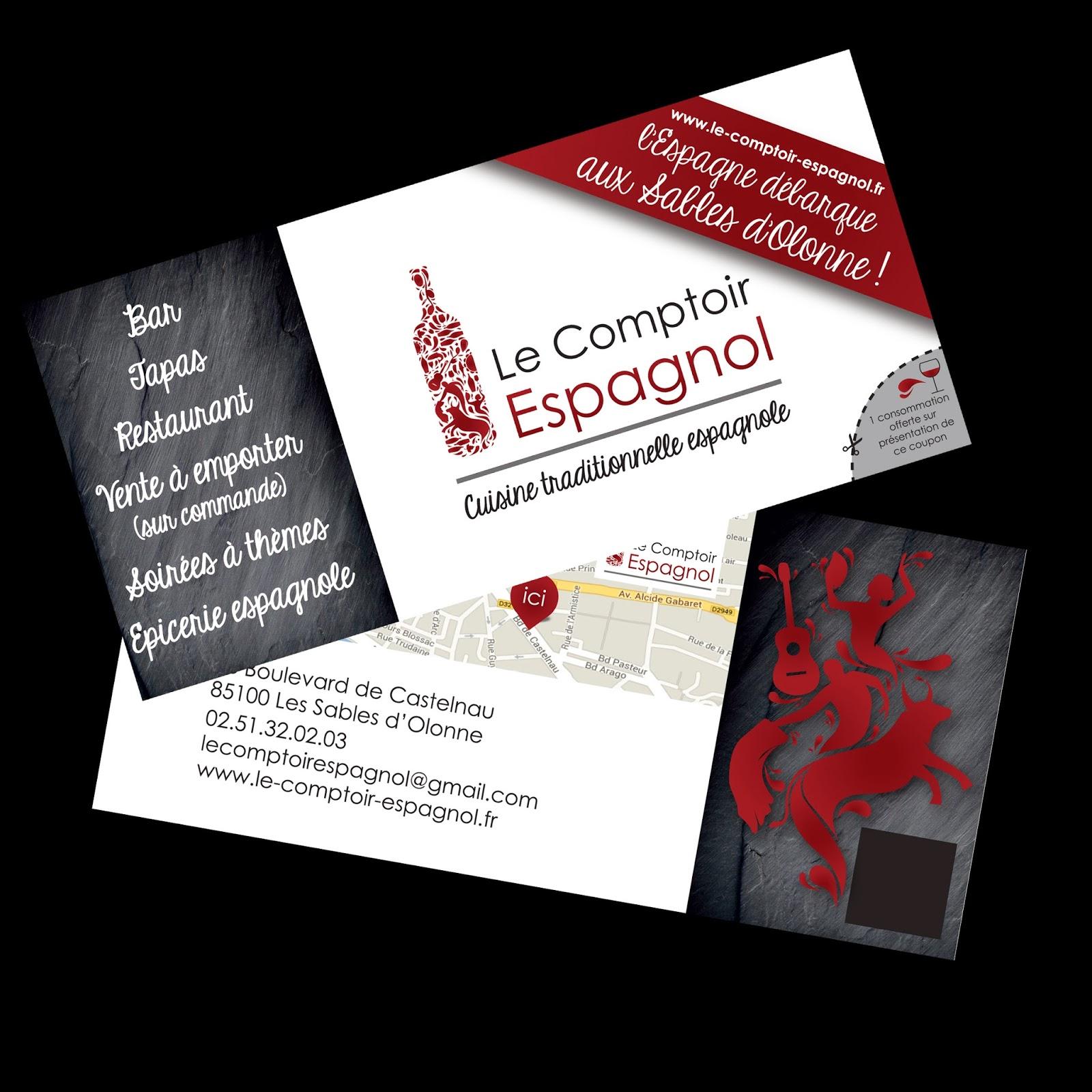 Creation De Ce Logotype Carte Visite Et Flyer Lancement Pour Lagence Vendee Vous