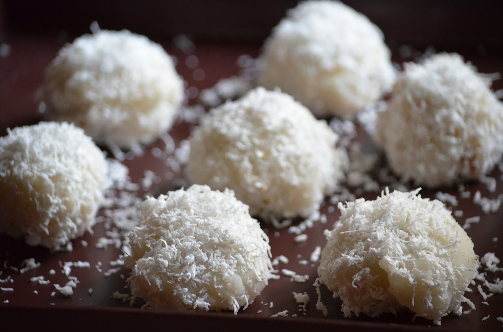 mochi desiccated coconut