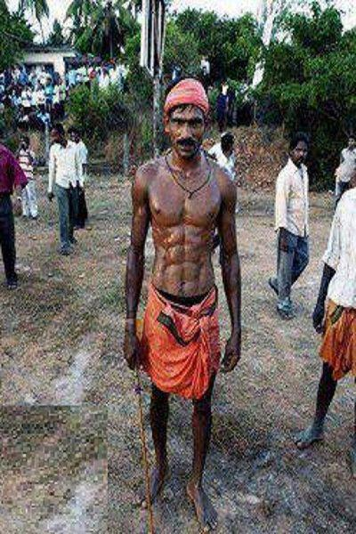 Funny Photos from India, indian six packs