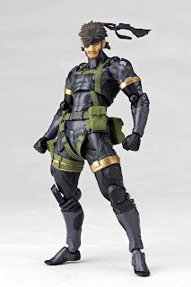 Kaiyodo Revoltech Metal Gear Peace Walker Snake figure