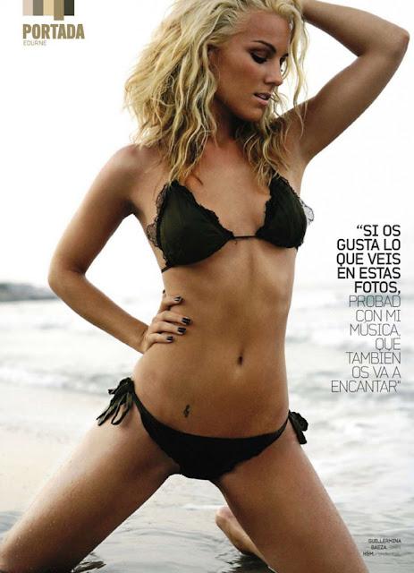 Edurne García Almagro sexy in lingerie