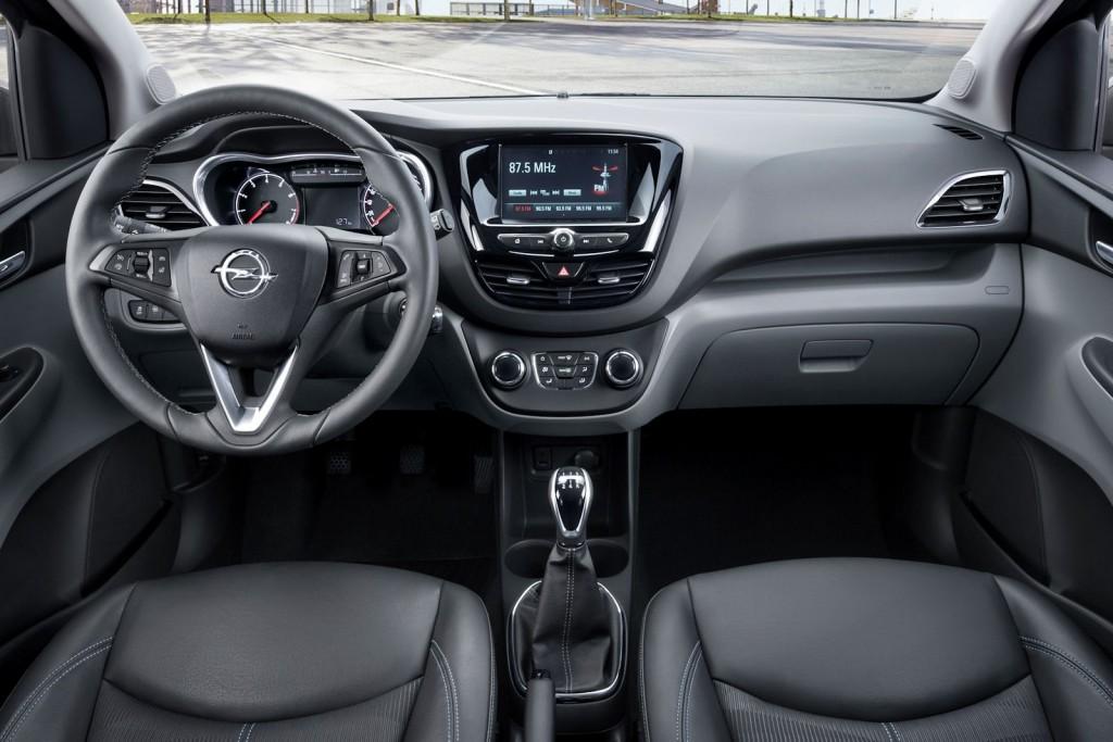 Opel Karl 2015 interior