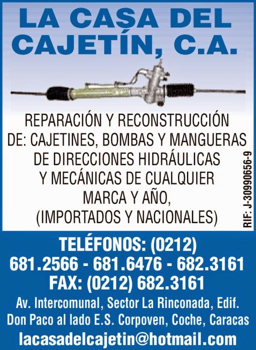 LA CASA DEL CAJETIN C.A. en Paginas Amarillas tu guia Comercial