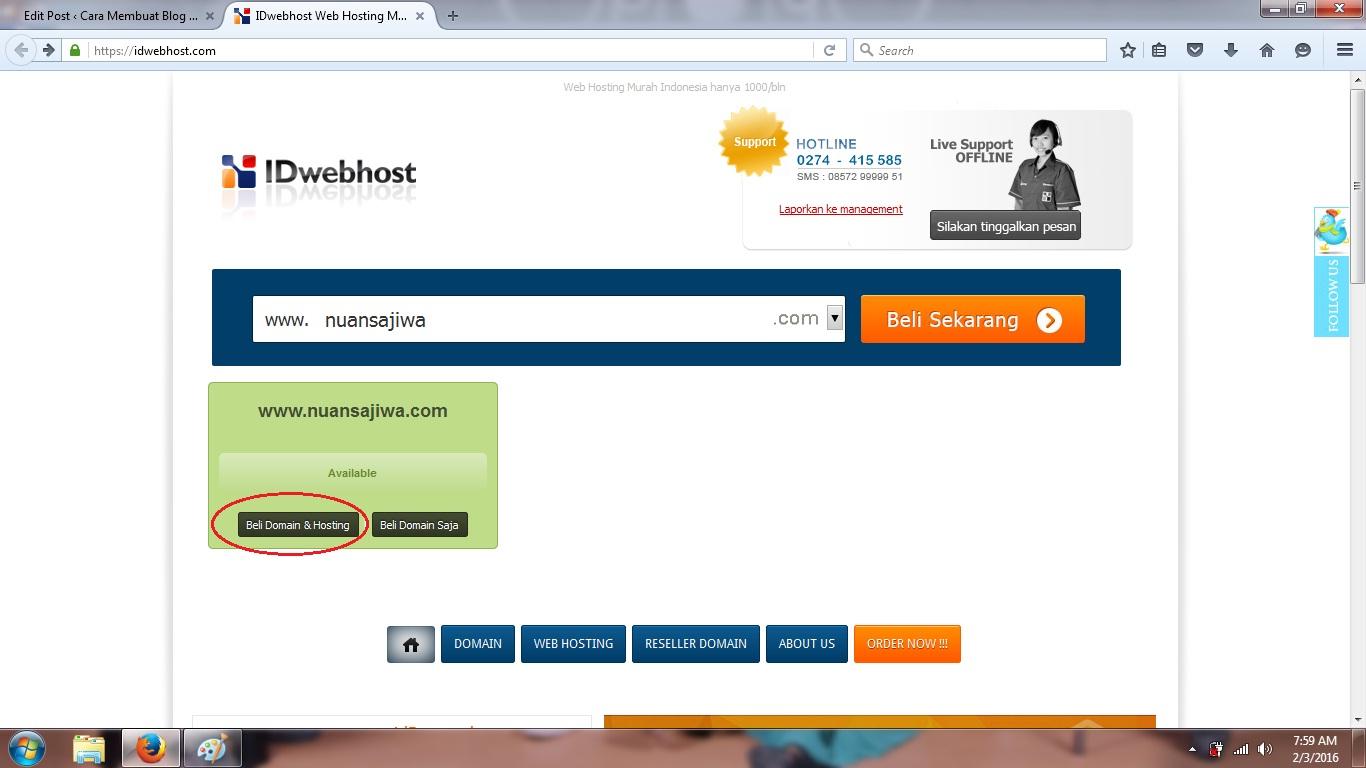 cara, membuat, blog, website, wordpress, self, hosting, domain, cpanel, pengertian