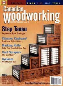 Мебельный журнал - Canadian Woodworking №37 2005