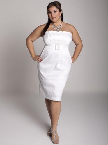 Vestidos cortos para bodas gorditas