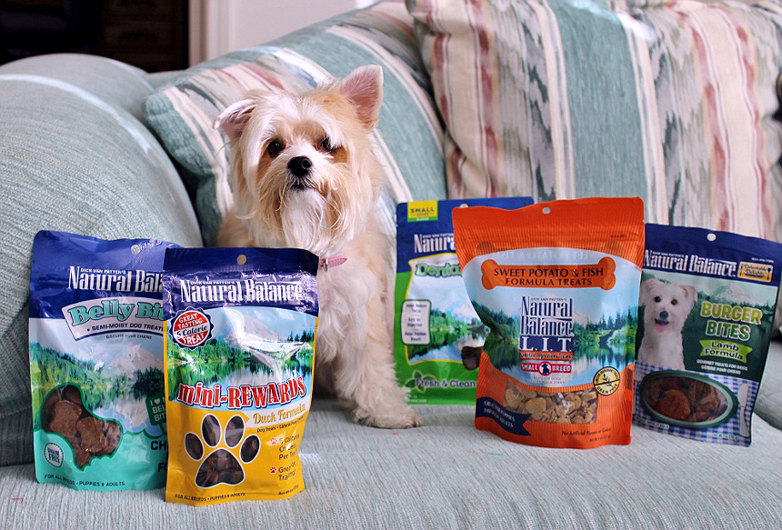 #NaturalBalance nutritious rewards and quality pet treats (Ad)