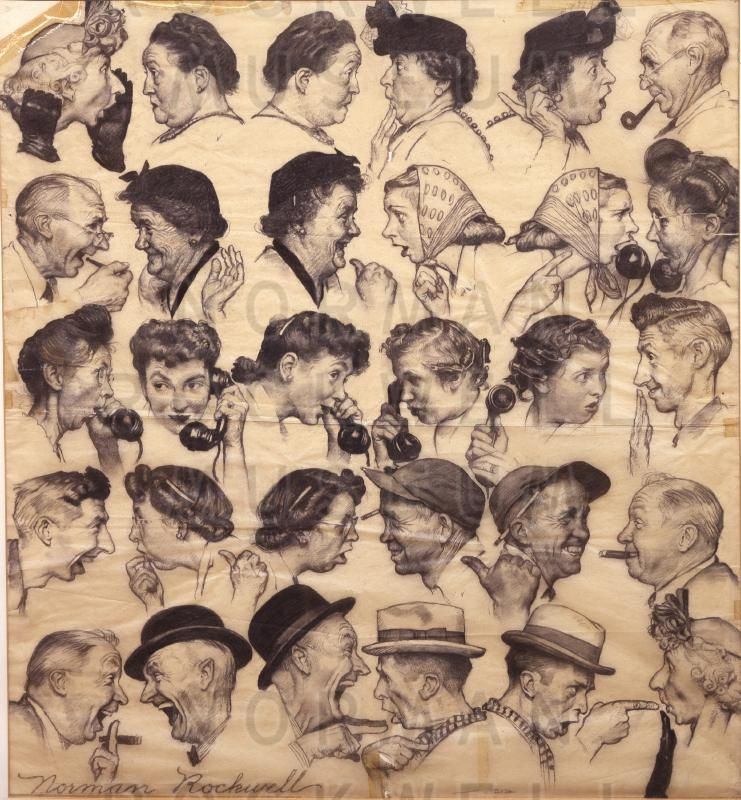 analysis of norman rockwells painting the catch The true value of norman rockwell, america's patriot painter nicolaus mills rockwell is often called 'folksy', yet his art, which now fetches millions, was deeply engaged with the great issues of.