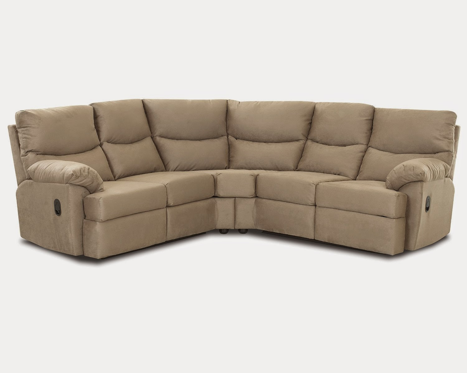 phoenix reclining corner sectional with