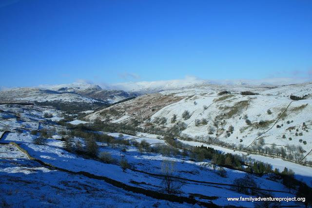 Cumbria in the snow