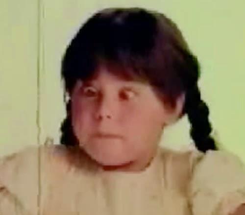 Campanha do Iogurte Vigor com as divertidas tranças da garotinha.