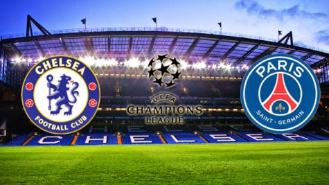 Hasil Pertandingan Leg 2 Chelsea vs PSG 9 April 2014