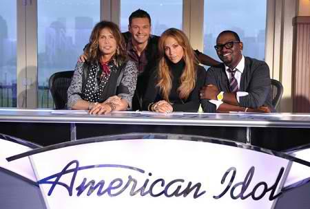 american idol judges season 10. American Idol Judges with Host
