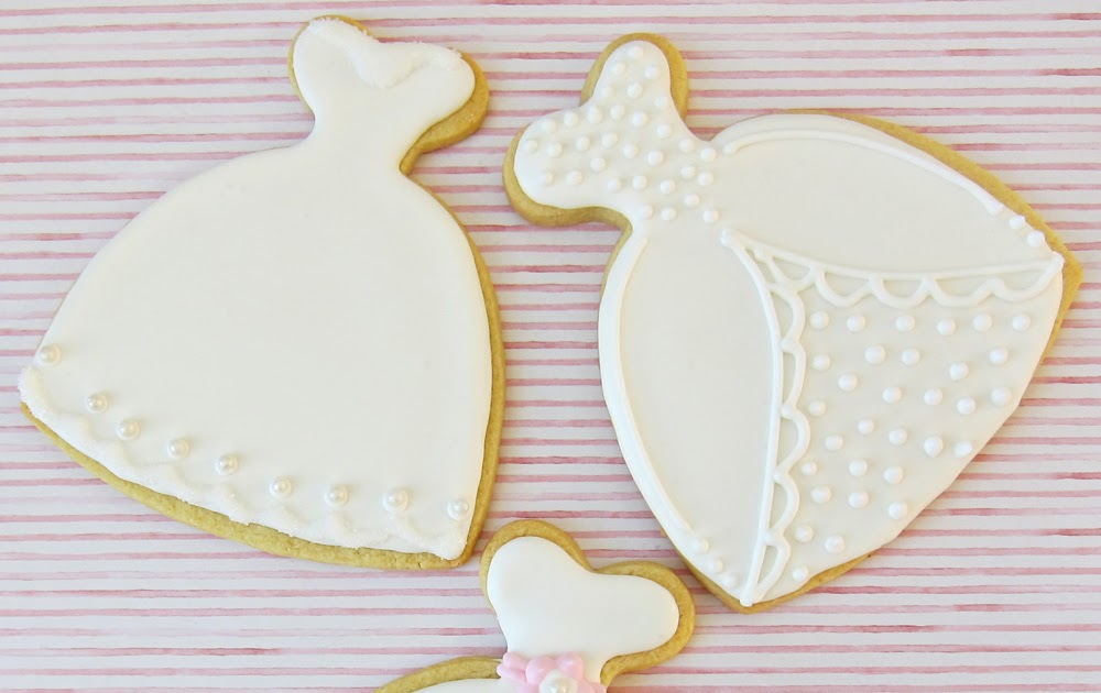 How Sweet It Is: Cookie Favors For A Bridal Shower