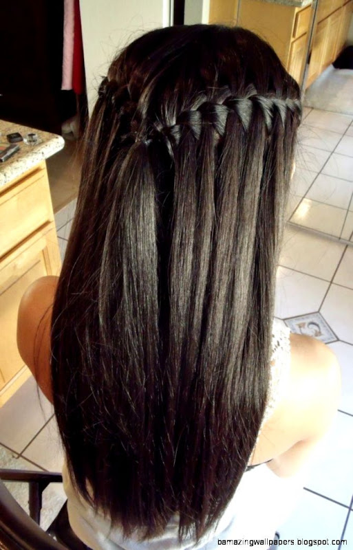 1000 images about hoco on Pinterest  Waterfall braids Straight